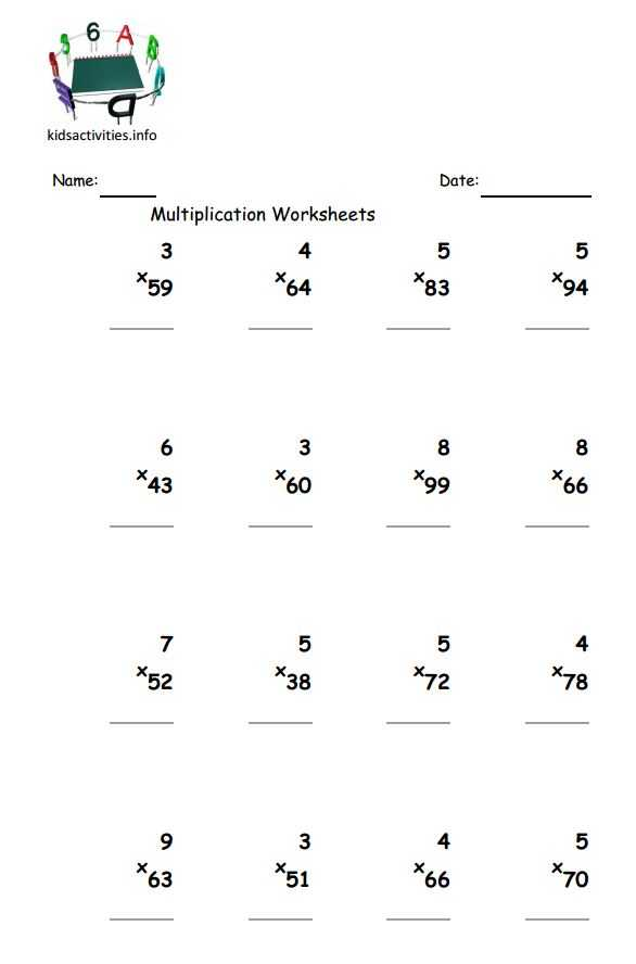 4 Digit by 1 Digit Multiplication Worksheets Pdf Along with 2 Grade Math Problems – Dailypoll Std 2 Maths Worksheets American Math