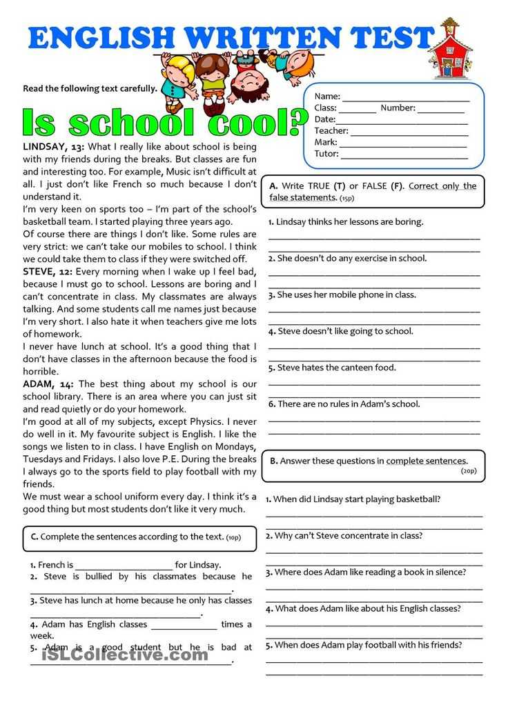 7th Grade Writing Worksheets Also 94 Best Reading Prehension Images On Pinterest