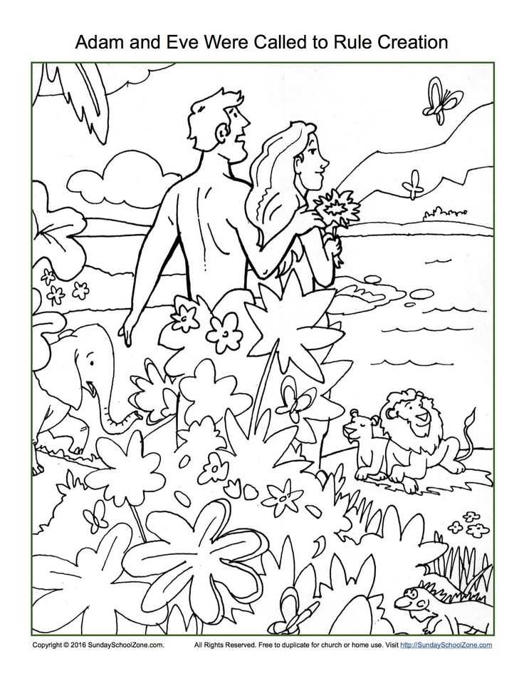 Adam and Eve Worksheets and 9 Best Adam and Eve Were Called to Rule Creation Bible Activities