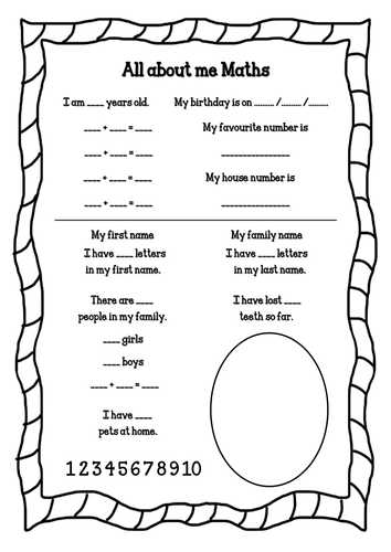 All About Me Worksheet Middle School Pdf Also All About Me Planning for Eyfs