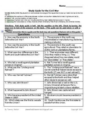 America the Story Of Us Civil War Worksheet Answer Key Along with 12 Best Lesson Plans Images On Pinterest