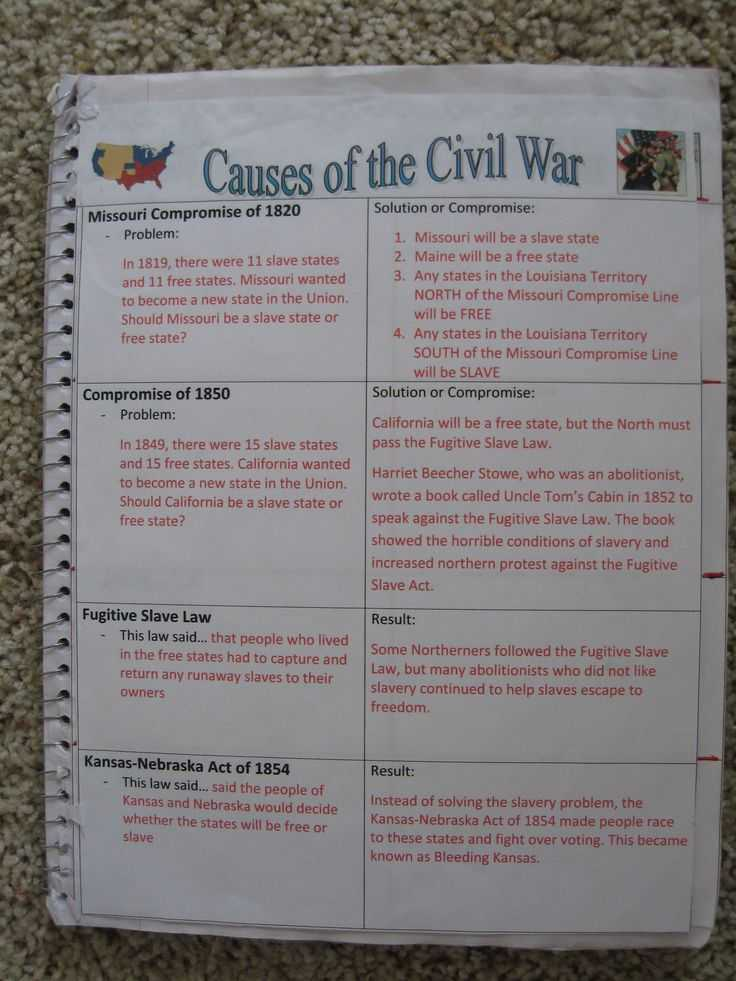 America the Story Of Us Civil War Worksheet Answer Key Also 61 Best 8th Civil War Images On Pinterest
