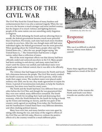 America the Story Of Us Civil War Worksheet Answer Key together with 235 Best Lesson Plans Civil War Rising Tensions Civil Rights