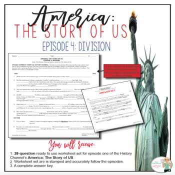 America the Story Of Us Episode 8 Worksheet Answer Key Along with social Stu S History Movie Guides Resources & Lesson Plans