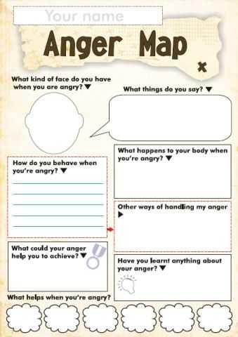 Anger Management Worksheets for Kids together with Free Anger and Feelings Worksheets for Kids