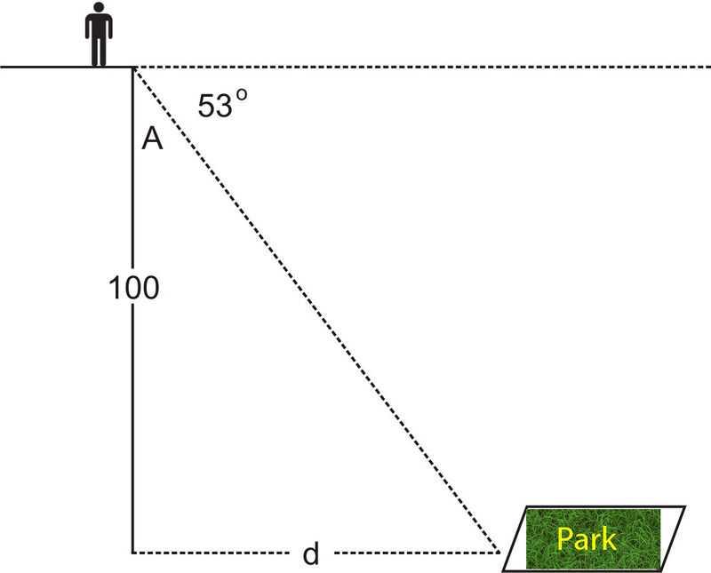 Angle Of Elevation and Depression Worksheet with Answers as Well as Angles Of Elevation and Depression