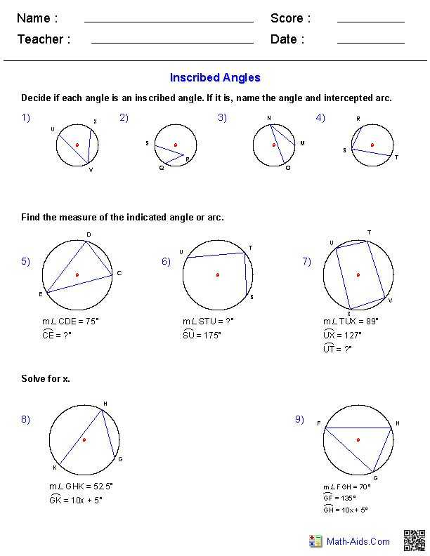 Arcs and Central Angles Worksheet together with 36 Best Geometry Worksheets Images On Pinterest