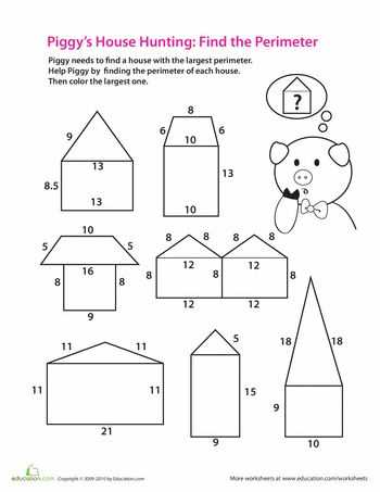 Area Perimeter Volume Worksheets Pdf Also 25 Best area Perimeter Images On Pinterest