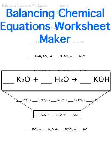 Balancing Chemical Equations Worksheet Pdf together with 155 Best Chemistry Images On Pinterest