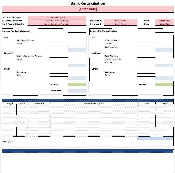 Bank Reconciliation Worksheet Also 25 Best Accounting tools Images On Pinterest