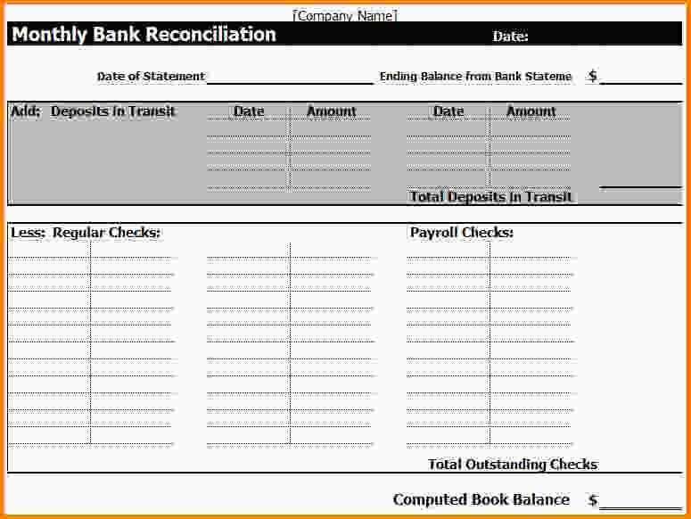 Bank Reconciliation Worksheet Also Inspirational Bank Reconciliation Template Elegant Business Credit