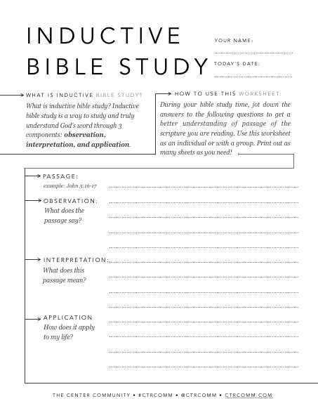 Bible Study Worksheets as Well as How to Study the Bible 7 Simple Bible Study Methods Every Christian