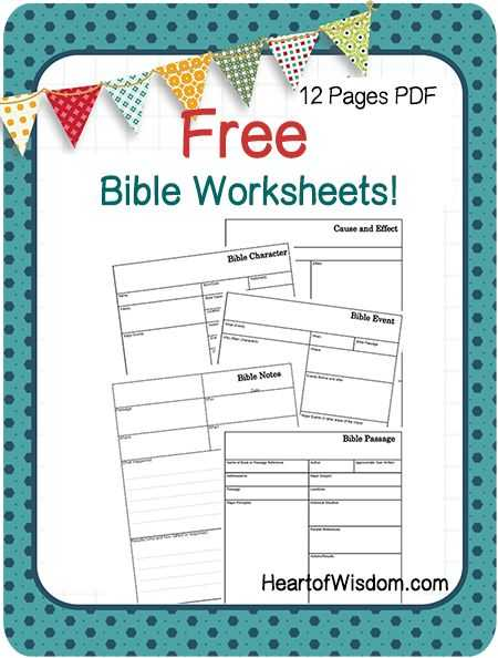 Bible Worksheets Pdf and 1203 Best Bible Study Buddy Images On Pinterest