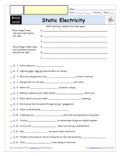 Bill Nye Genes Video Worksheet Answers as Well as Bill Nye the Science Guy Electricity Worksheet Answers