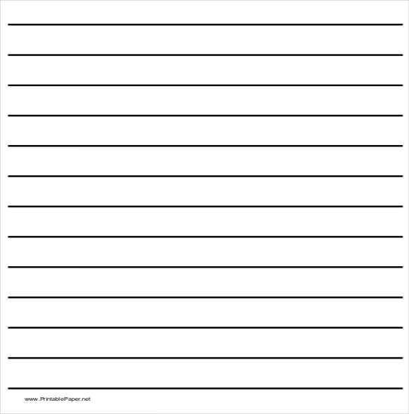 Blank Handwriting Worksheets Along with Handwriting Lines Template Guvecurid