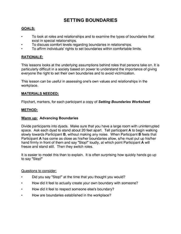 Boundaries Worksheet therapy together with Image Result for Healthy Boundaries Worksheet therapy