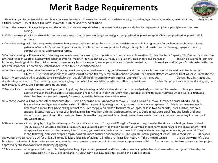 Boy Scout Merit Badge Worksheets or Boy Scouts Merit Badge Worksheets the Best Worksheets Image