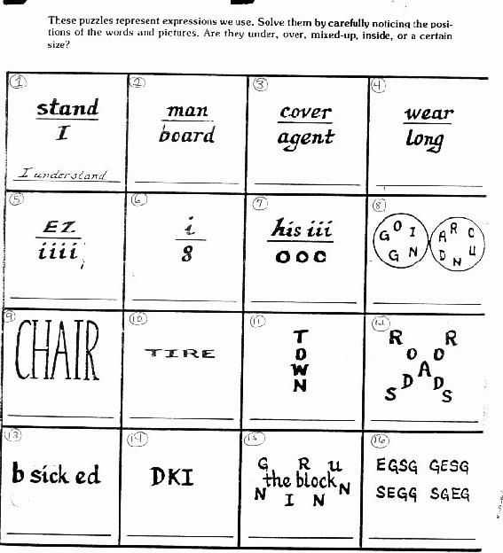 Brain Games Worksheets Also 84 Best Brain Teasers Images On Pinterest