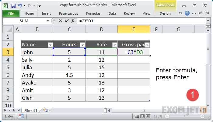 Calculating Gross Pay Worksheet as Well as 29 Ways to Save Time with Excel formulas