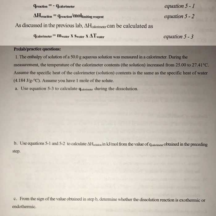 Calorimetry Practice Worksheet with Chemistry Archive November 27 2017
