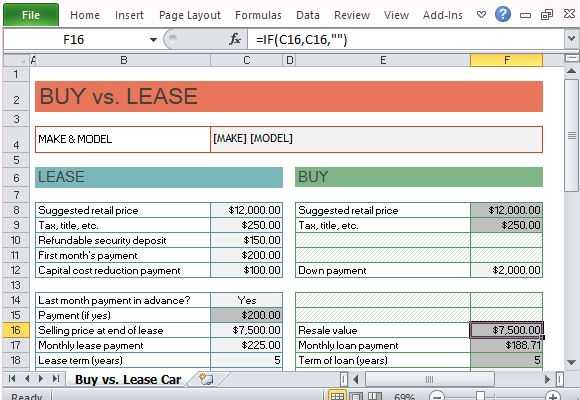 Car Lease Worksheet Also Renting Vs Leasing Car Guvecurid