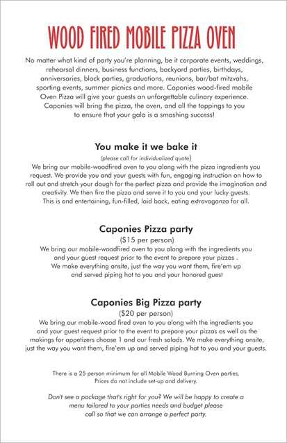 Catering Contract Worksheet Also 14 Best Catering Menus Chicago Food Trucks Holidays 2012 Images