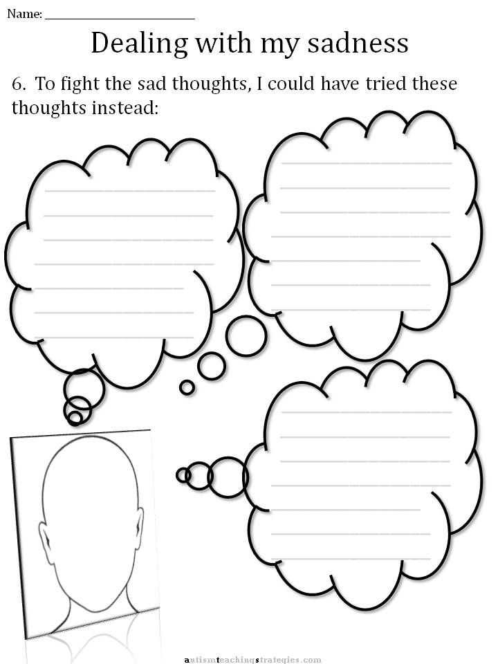 Cbt for social Anxiety Worksheets together with Cbt Sadness Worksheet School Pinterest