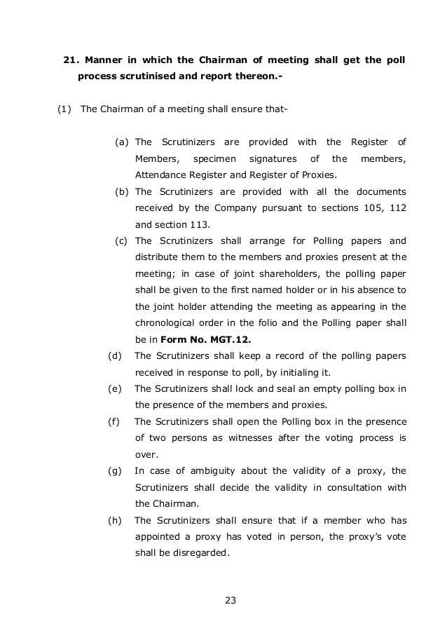 Chapter 7 the Electoral Process Worksheet Answers Also the New Panies Law 2013 India Chapter 7 Management and Admini…