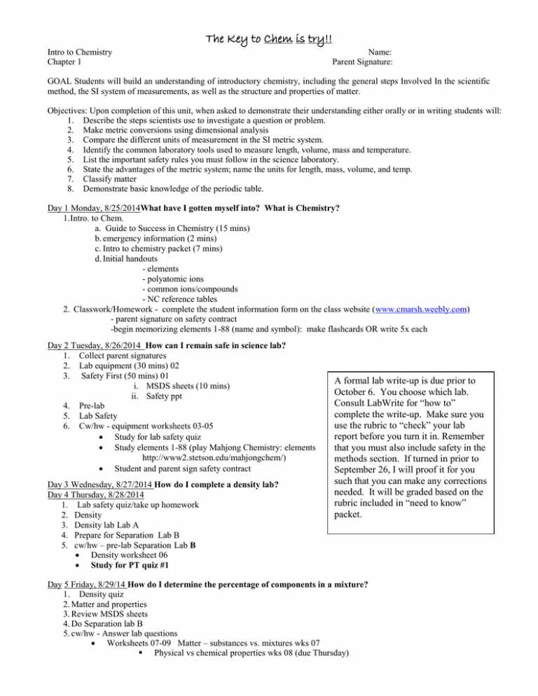 Chemistry 1 Worksheet Classification Of Matter and Changes Answer Key together with Worksheet solutions Introduction Answers Kidz Activities