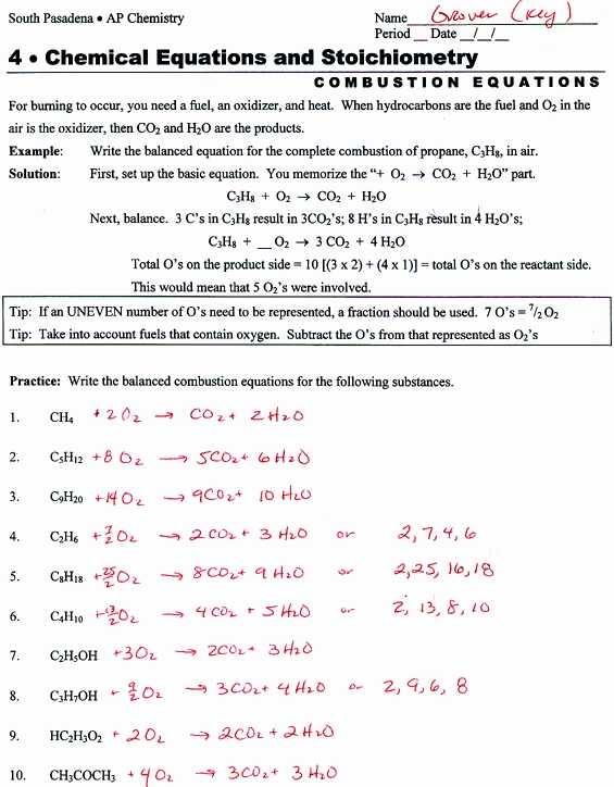 Chemistry Balancing Chemical Equations Worksheet Answer Key Along with Phet Balancing Chemical Equations Answers Elegant Balancing