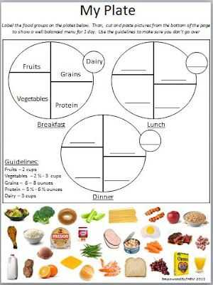 Choose My Plate Worksheet with 14 Best Health Nutrition Education Images On Pinterest