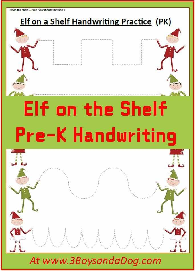 Christmas Handwriting Worksheets Also 157 Best for the Kid S Images On Pinterest