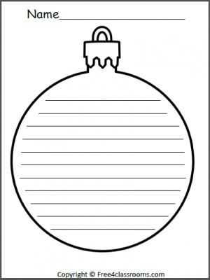 Christmas Handwriting Worksheets and 11 Best Language Arts Images On Pinterest