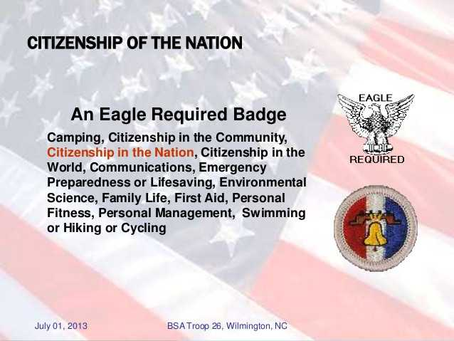 Citizenship In the Nation Merit Badge Worksheet and Citizenship In the World Worksheet