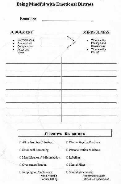 Cognitive Distortions therapy Worksheet Along with 778 Best Counseling Worksheets Printables Images On Pinterest