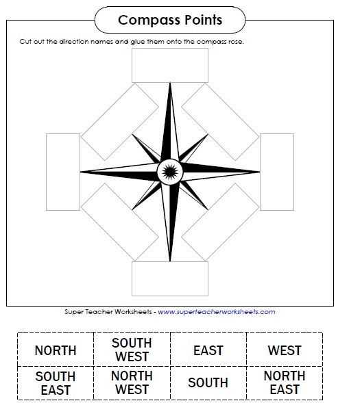 Compass Worksheets for Kids Along with 30 Best social Stu S Super Teacher Worksheets Images On