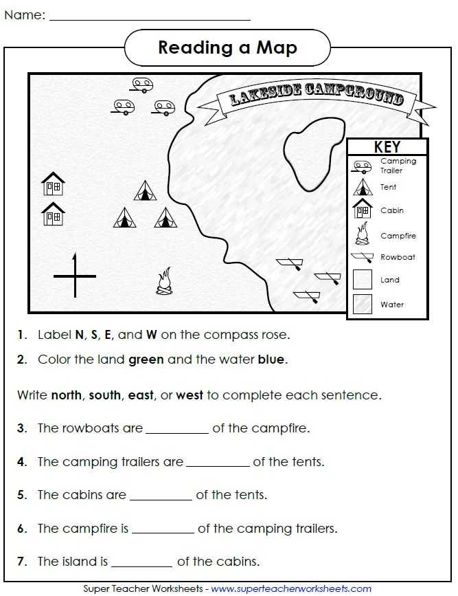 Compass Worksheets for Kids or 230 Best 2nd social Stu S Images On Pinterest