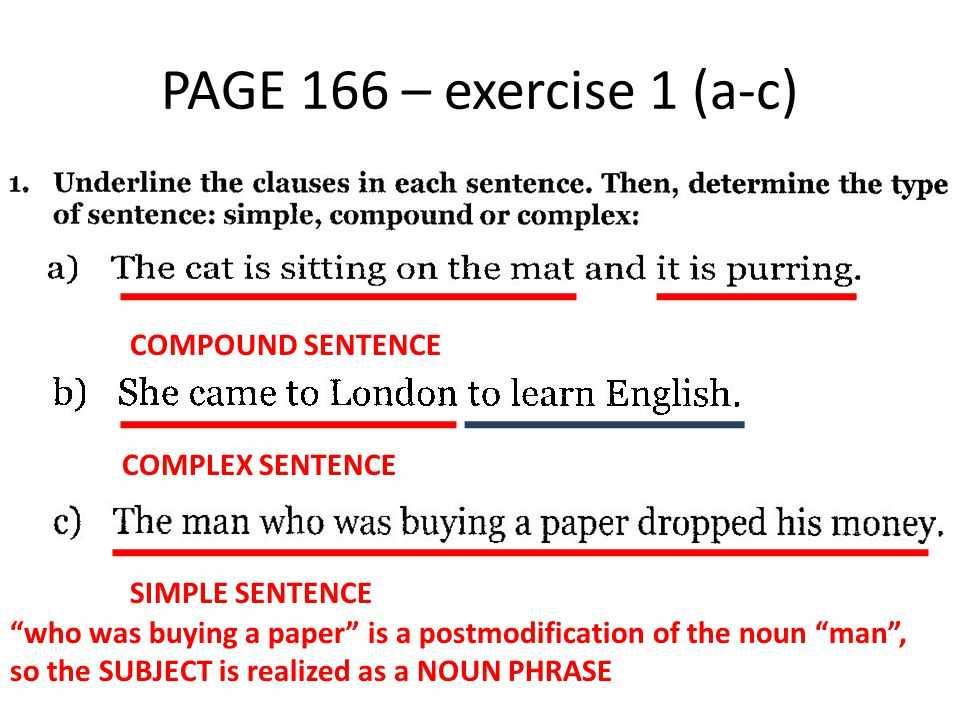 Compound and Complex Sentences Worksheet Along with Practice Class 10 11 30 Plex Sentence Practice Class 10