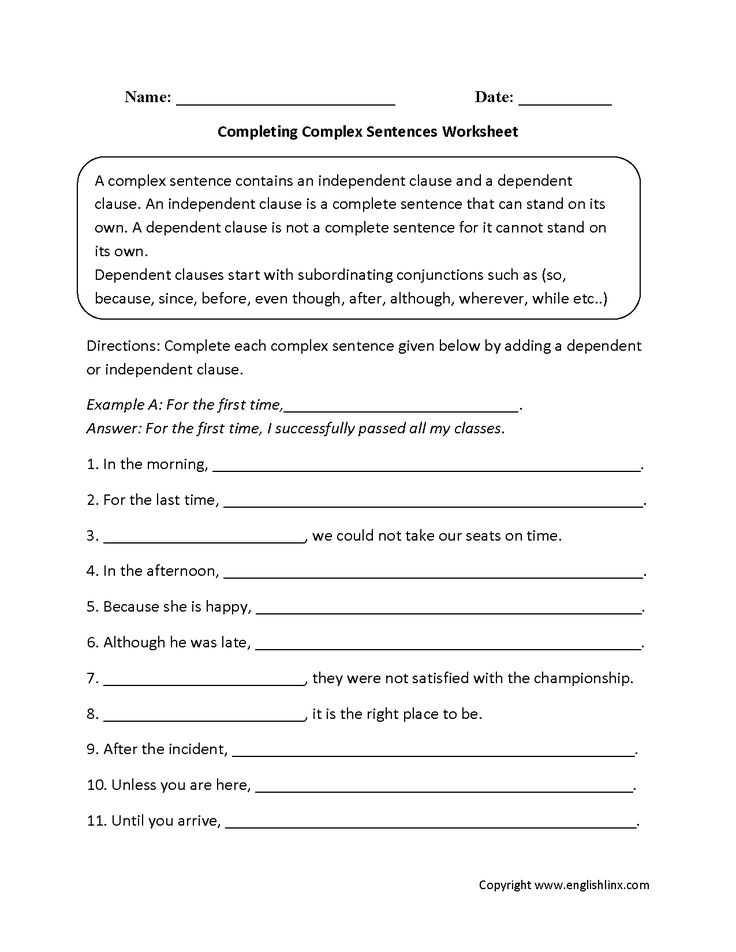 Compound and Complex Sentences Worksheet and 17 Best Plex Sentences Images On Pinterest