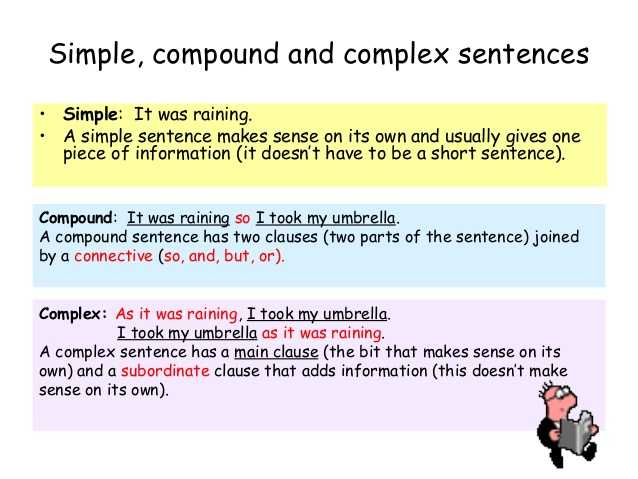 Compound and Complex Sentences Worksheet and Sentence Types Guvecurid
