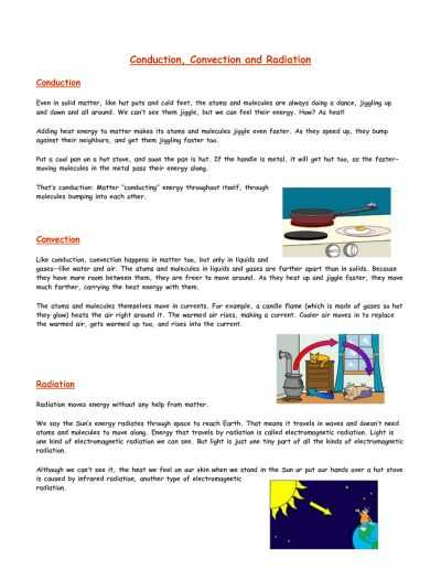 Conduction Convection Radiation Worksheet Answer Key and 10 Best Heat Transfer Images On Pinterest