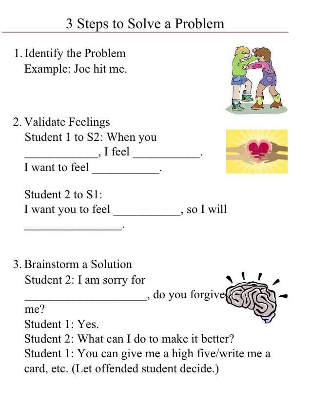 Conflict Resolution Worksheets Along with 78 Best Conflict Resolution Images On Pinterest