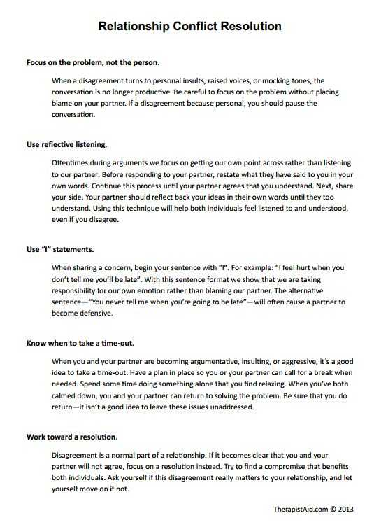 Conflict Resolution Worksheets Along with 86 Best Conflict Resolution Images On Pinterest