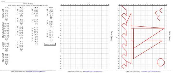 Coordinate Graphing Worksheets together with Math Coordinate Grid Worksheets