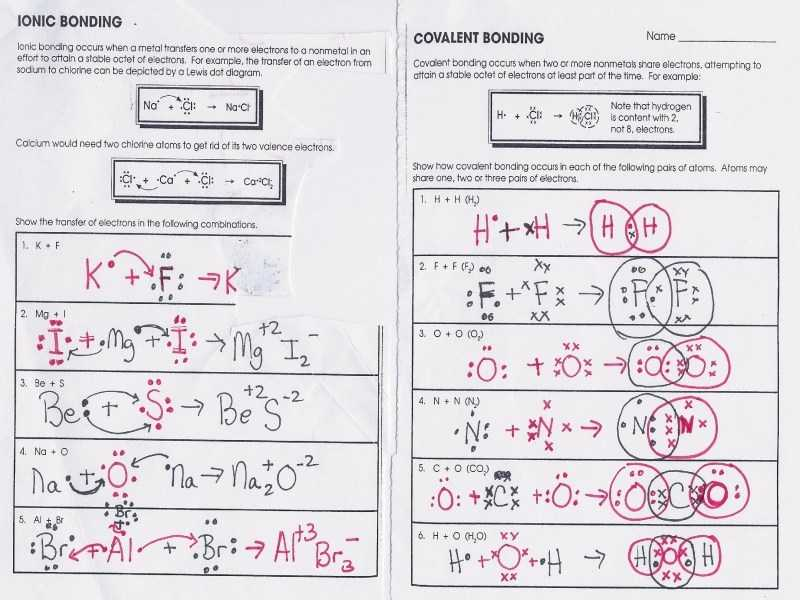 Covalent Bonding Worksheet together with New Covalent Bonding Worksheet Luxury Lesson 1 Intro to Chemical