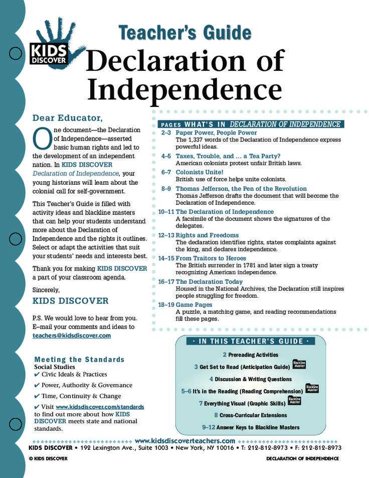 Declaration Of Independence Worksheet Answer Key as Well as 349 Best Civics Images On Pinterest