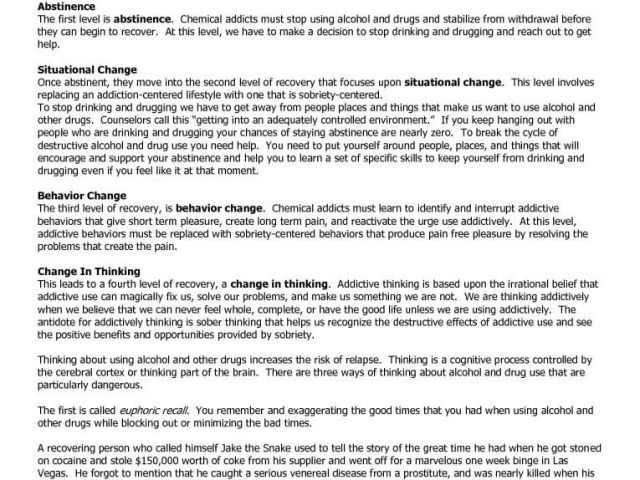 Disease Concept Of Addiction Worksheet and Recovery Worksheets Substance Abuse with Gorski Relapse Prevention