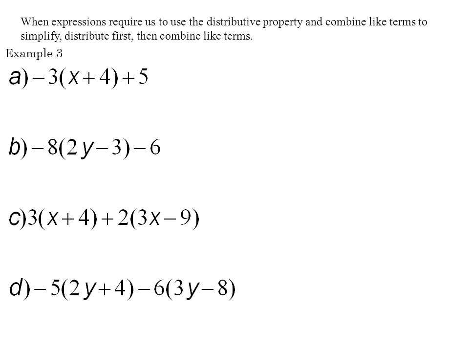 Distributive Property Combining Like Terms Worksheet with Exemplary Essay Awards Montclair State University Homework and