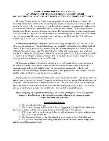 Divorce Annulment Worksheet Along with Domestic Relations Cover Sheet and Instructions Arkansas Legal