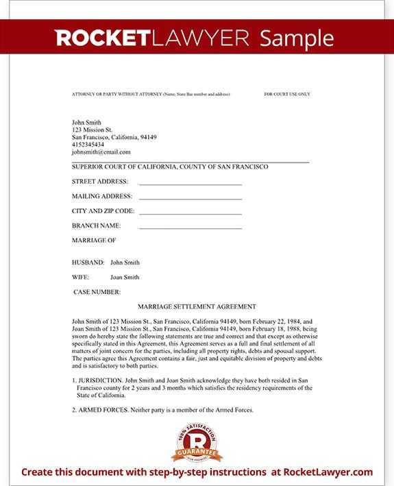 Divorce Annulment Worksheet and Certificate Divorce Template Printable